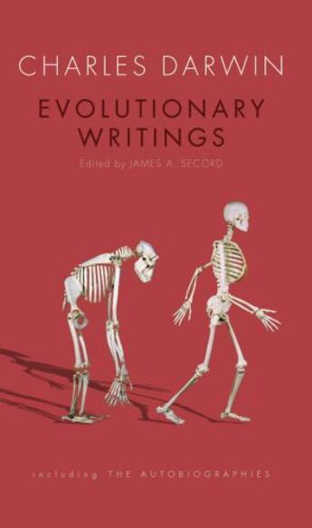 Couverture du livre « Evolutionary Writings: including the Autobiographies » de Charles Darwin aux éditions Oup Oxford