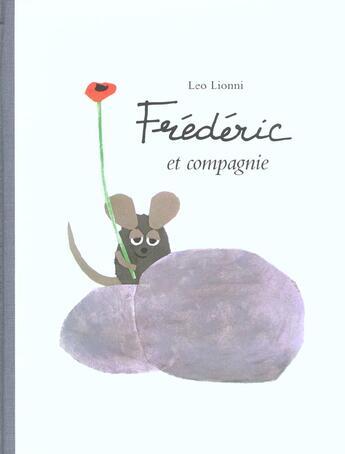 Couverture du livre « Frederic et compagnie » de Leo Lionni aux éditions Ecole Des Loisirs