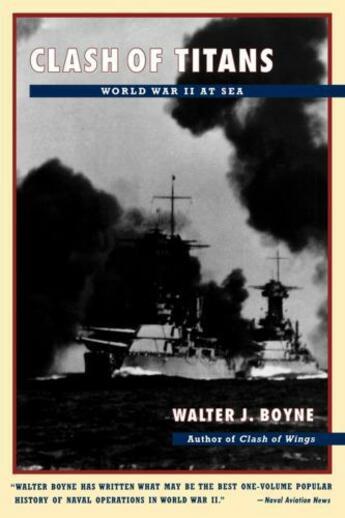 Couverture du livre « Clash of Titans » de Boyne Walter J aux éditions Simon & Schuster