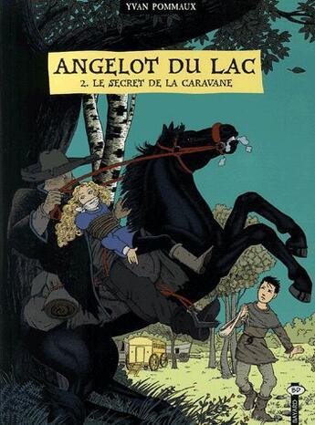 Couverture du livre « Angelot du lac t.2 ; le secret de la caravane » de Yvan Pommaux aux éditions Bayard Jeunesse