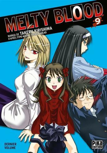 Couverture du livre « Melty blood t.9 » de Takeru Kirishima et Type-Moon aux éditions Pika