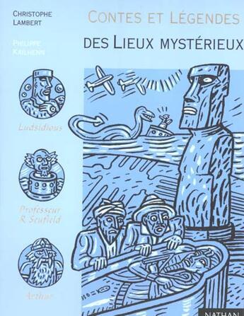 Couverture du livre « Contes Et Legendes Des Lieux Mysterieux » de Sabbagh aux éditions Nathan