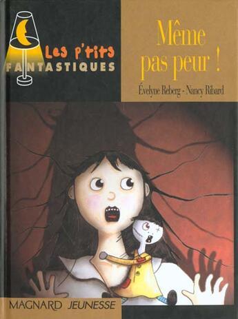 Couverture du livre « Meme Pas Peur » de Evelyne Reberg aux éditions Magnard