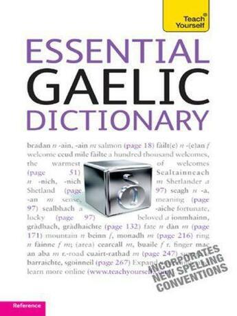 Couverture du livre « Essential Gaelic Dictionary: Teach Yourself » de Ian Macdonald aux éditions Hodder Education Digital