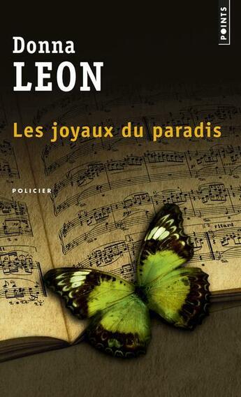 Couverture du livre « Les joyaux du paradis » de Donna Leon aux éditions Points