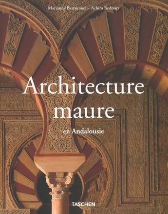 Couverture du livre « Architecture maure - ms » de Collectif aux éditions Taschen