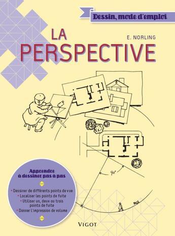Couverture du livre « La perspective » de Norling aux éditions Vigot