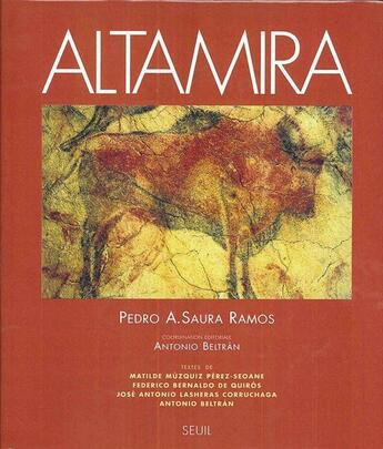 Couverture du livre « Altamira » de Beltran (Dir.) Anton aux éditions Seuil