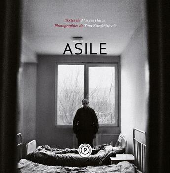 Couverture du livre « Asile » de Hache-M+Kazakhishvil aux éditions Publie.net