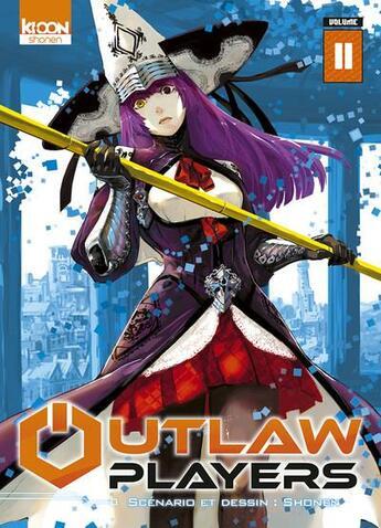 Couverture du livre « Outlaw players T.11 » de Shonen aux éditions Ki-oon