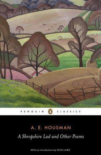 Couverture du livre « A Shropshire Lad and Other Poems » de Housman A E aux éditions Penguin Books Ltd Digital