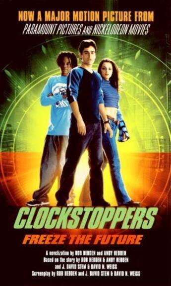 Couverture du livre « Clockstoppers » de Hedden Andy aux éditions Gallery Books