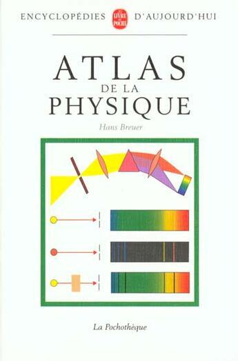 Couverture du livre « Atlas De La Physique » de Breuer-H aux éditions Lgf