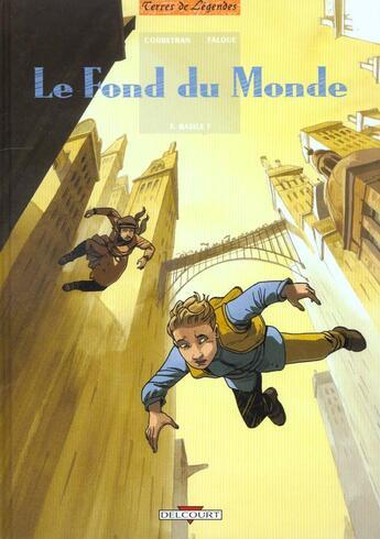 Couverture du livre « Le fond du monde t.3 ; Basile F » de Corbeyran et Falque aux éditions Delcourt