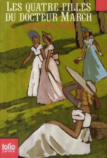Couverture du livre « Les quatre filles du docteur March » de Louisa May Alcott aux éditions Gallimard-jeunesse