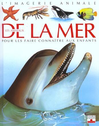 Couverture du livre « Animaux De La Mer » de Collectif aux éditions Fleurus