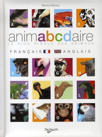 Couverture du livre « Animabcdaire » de Redfield Rochelle aux éditions De Vecchi