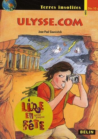 Couverture du livre « Ulysse.com » de Jean-Paul Gourevitch aux éditions Belin