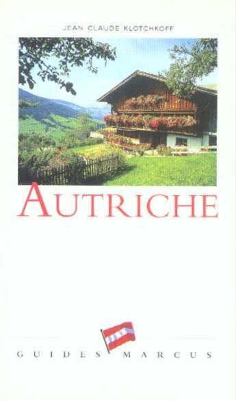Couverture du livre « Autriche » de Klotchkoff. Jea aux éditions Marcus Nouveau