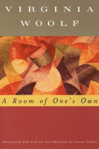 Couverture du livre « A Room of One's Own (Annotated) » de Virginia Woolf aux éditions Houghton Mifflin Harcourt