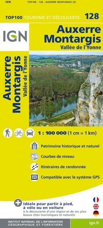 Couverture du livre « Auxerre, Montargis » de Collectif Ign aux éditions Ign