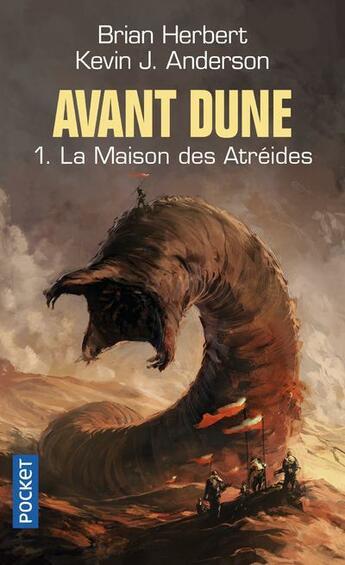 Couverture du livre « Avant Dune - Tome 1 La Maison Des Atreides » de Brian Herbert aux éditions Pocket