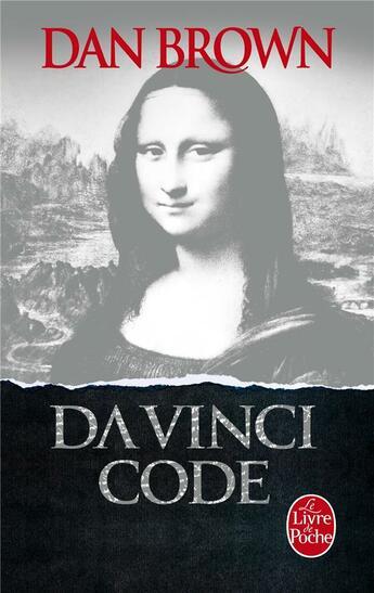 Couverture du livre « Da Vinci Code » de Dan Brown aux éditions Lgf