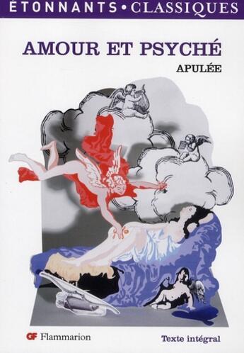 Couverture du livre « Amour Et Psyche (Nlle Couv) » de Apulee aux éditions Flammarion