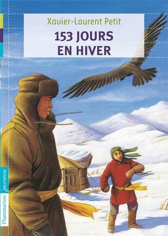 Couverture du livre « 153 jours en hiver » de Xavier-Laurent Petit aux éditions Pere Castor