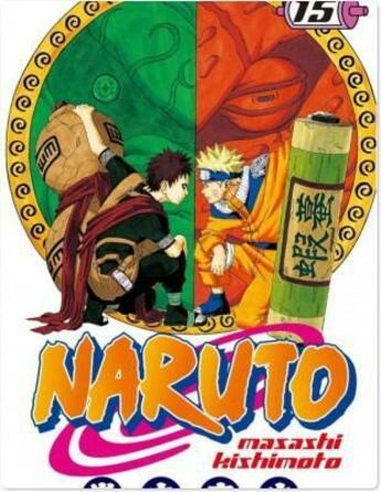 Couverture du livre « Naruto t.15 » de Masashi Kishimoto aux éditions Kana