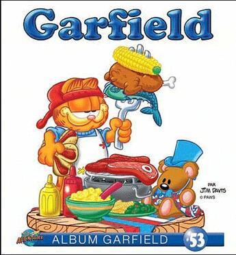 Couverture du livre « Album Garfield T.53 » de Jim Davis aux éditions Presse Aventure
