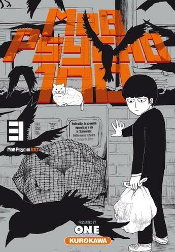 Couverture du livre « Mob psycho 100 T.3 » de One aux éditions Kurokawa
