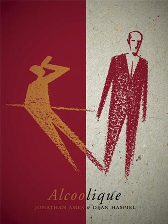 Couverture du livre « Alcoolique » de Jonathan Ames et Dan Haspiel aux éditions Monsieur Toussaint Louverture