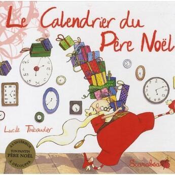 Couverture du livre « Calendrier du Père Noël » de Collectif aux éditions Scarabea