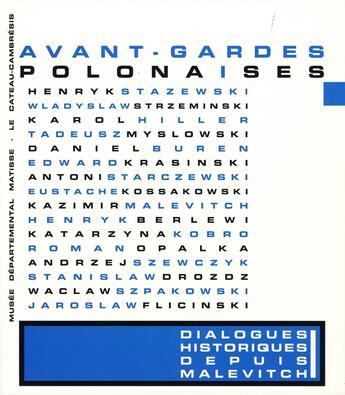 Couverture du livre « Avant-gardes polonaises » de Collectif aux éditions Snoeck