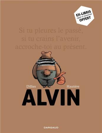 Couverture du livre « Alvin ; coffret t.1 et t.2 » de Regis Hautiere et Renaud Dillies aux éditions Dargaud