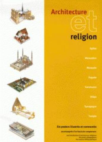 Couverture du livre « Architecture Et Religion » de Collectif aux éditions Enbiro