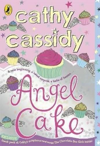 Couverture du livre « Angel cake » de Cathy Cassidy aux éditions Children Pbs