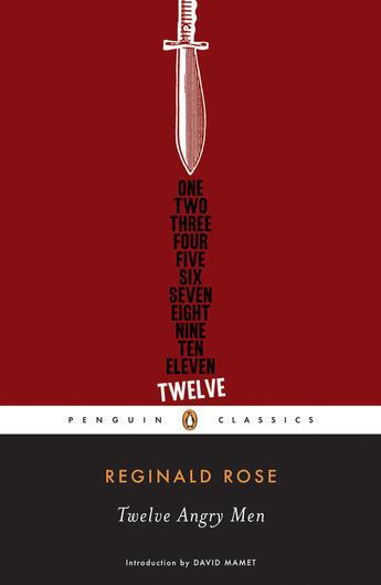 Couverture du livre « Twelve Angry Men » de Reginald Rose aux éditions Penguin Group Us