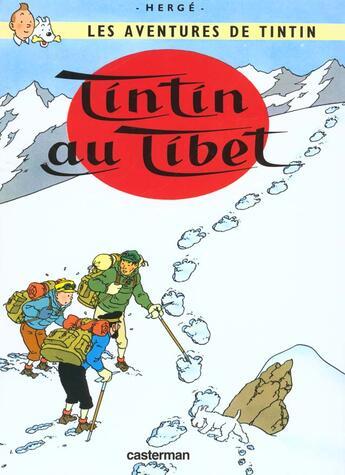 Couverture du livre « Les aventures de Tintin T.20 ; Tintin au Tibet » de Herge aux éditions Casterman