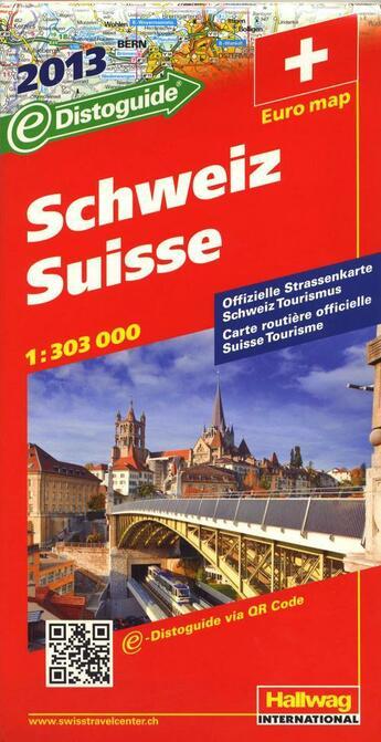 Couverture du livre « **Suisse / Schweiz  2013 » de Collectif aux éditions Hallwag
