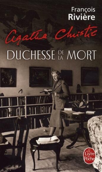 Couverture du livre « Agatha Christie, duchesse de la mort » de Riviere-F aux éditions Lgf