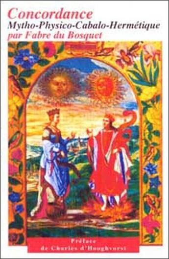 Couverture du livre « Concordance mytho-physico-cabalo-hermétique » de Fabre Du Bosquet aux éditions Mercure Dauphinois