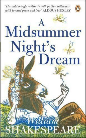 Couverture du livre « A Midsummer Night's Dream » de William Shakespeare aux éditions Penguin Books Ltd Digital