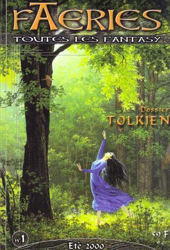 Couverture du livre « Faeries 1 special tolkien » de  aux éditions Nestiveqnen