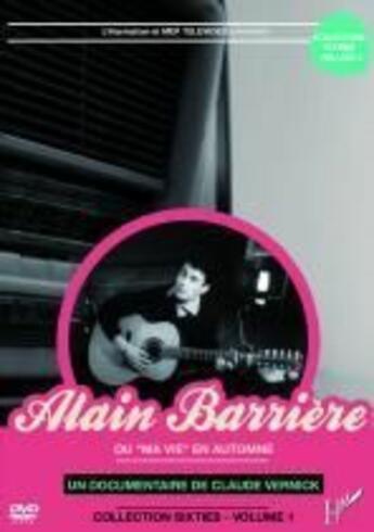 Couverture du livre « Alain Barrière ou ma vie en automne » de Claude Vernick aux éditions L'harmattan