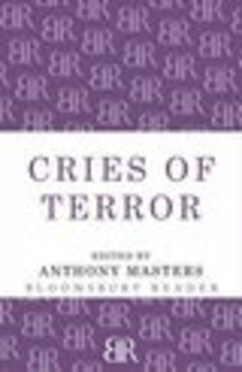 Couverture du livre « Cries of Terror » de Anthony Masters aux éditions Editions Racine
