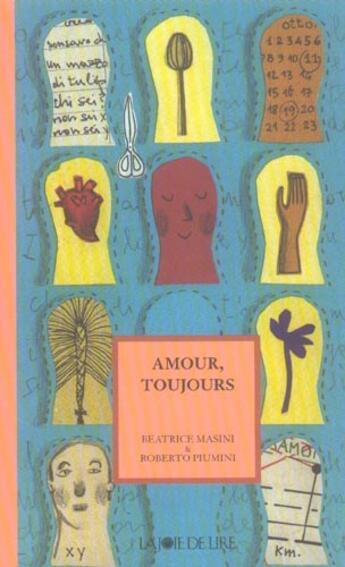Couverture du livre « Amour Toujours » de Beatrice Masini et Roberto Piumini aux éditions La Joie De Lire
