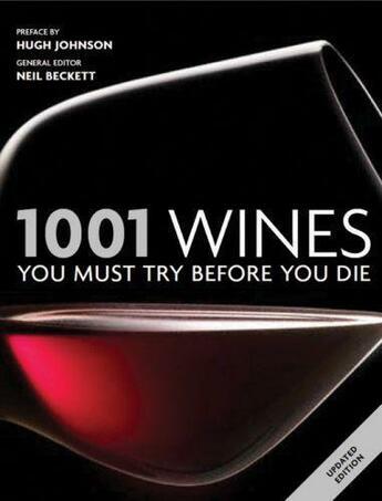 Couverture du livre « 1001 Wines » de  aux éditions Octopus Digital