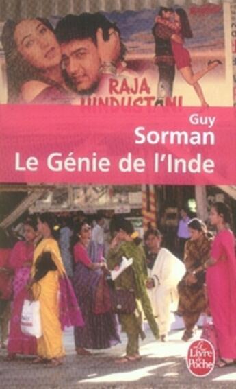 Couverture du livre « Le génie de l'inde » de Guy Sorman aux éditions Lgf